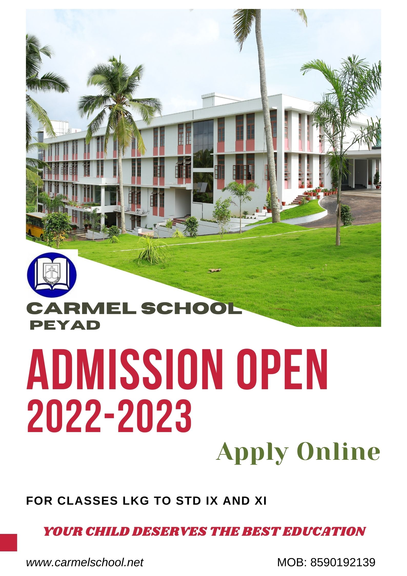 ADMISSION OPEN 2022-'23